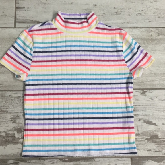 492fe888aefd3 Forever 21 Tops - Forever 21 rainbow stripe top small